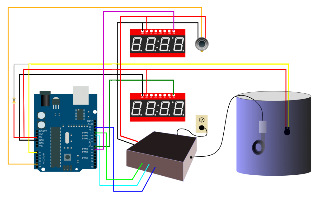 Temperature Controller Schematic